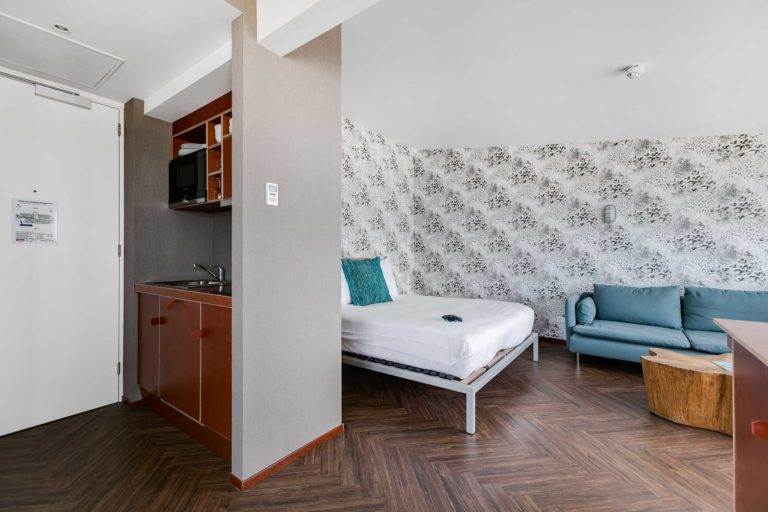 Keuken deluxe suite zeezijde beachhouse hotel