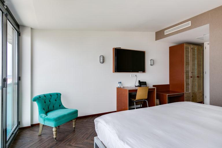 Superior zeezijde kamer Beachhouse hotel