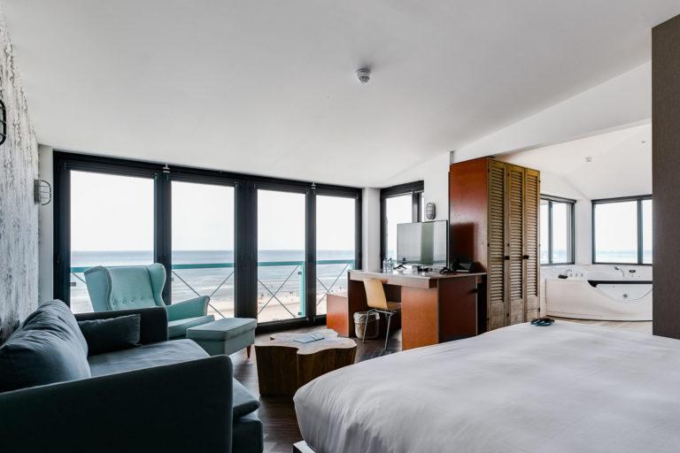 Deluxe suite junior zeezijde Beachhouse hotel