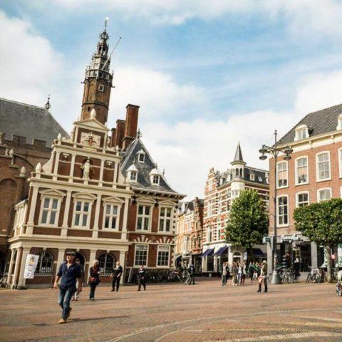Bezoek de grote markt en andere bezienswaardigheden in Haarlem