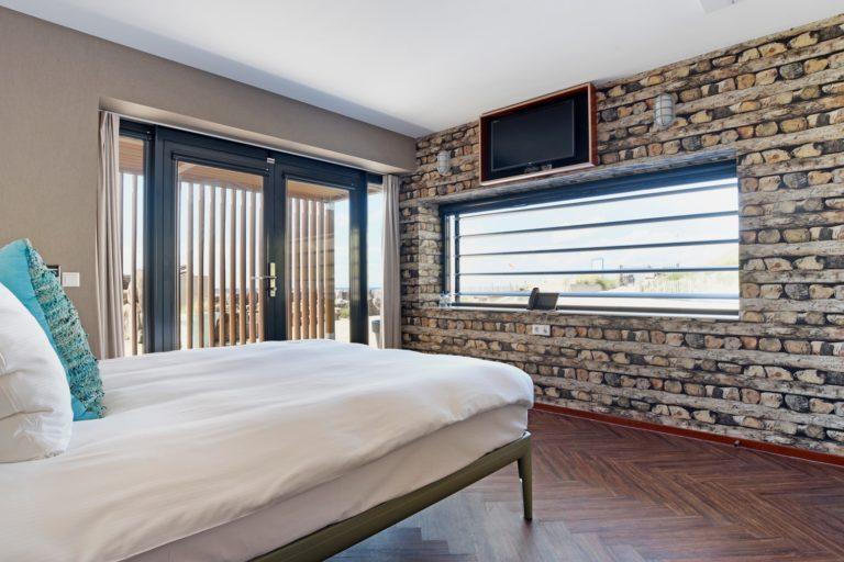 Superior zeezijde slaapkamer met kingsize bed